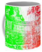 Rome - Altar Of The Fatherland Colorsplash Coffee Mug