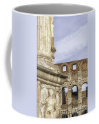 Rome Arch Of Titus Sculpture Detail Coffee Mug