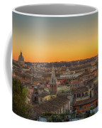 Rome At Sunset Coffee Mug