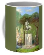 Rome Piazza Albania Coffee Mug