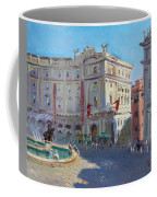 Rome Piazza Republica Coffee Mug