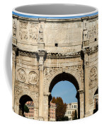 Rome - The Arch Of Constantine 3 Coffee Mug