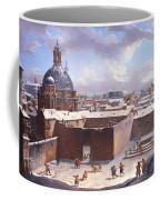 Rome Under The Snow Coffee Mug