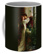 Romeo And Juliet Coffee Mug by Sir Frank Dicksee