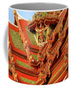 Roof Of Buddhist Temple In Thailand Coffee Mug