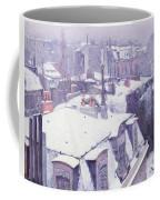 Roofs Under Snow Coffee Mug