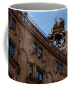 Rooftop Chariots And Horses - The Hippodrome Casino Leicester Square London U K Coffee Mug