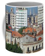 Rooftops Of Old Town Havana Coffee Mug