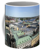 Rooftops Of Stockholm Coffee Mug