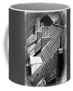 Rooftops Of Belgium Gothic Style Coffee Mug