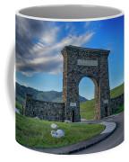 Roosevelt Arch At Yellowstone Dsc2522_05252018 Coffee Mug