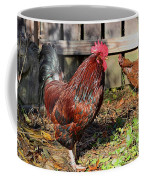 Rooster And Friend Coffee Mug