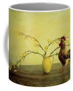 Rooster At Sunrise Coffee Mug