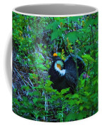 Rooster Grouse Posing Coffee Mug
