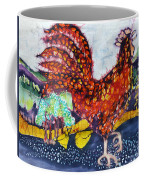 Rooster In The Morning Coffee Mug