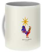 Rooster Pattern Art Coffee Mug