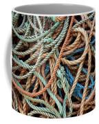 Rope Background Coffee Mug by Carlos Caetano