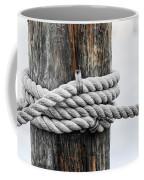 Rope Fence Fragment Coffee Mug
