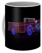 Rope Light Art 1957 Chevy Coffee Mug