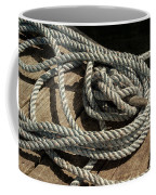 Rope On The Dock Coffee Mug