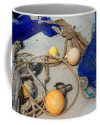 Ropes Nets And Bouys Coffee Mug