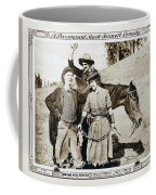 Roping Her Romeo 1919 Coffee Mug