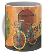 Rose And Bicycle Coffee Mug