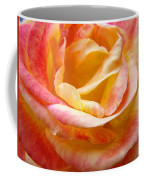 Rose Art Pink Yellow Summer Rose Floral Baslee Troutman Coffee Mug