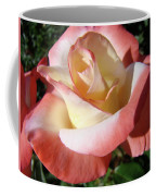 Rose Artwork Floral Pink White Roses Baslee Troutman Coffee Mug