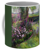 Rose Bed And Geese Coffee Mug by Timothy Easton