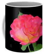 Rose Blushing Cutout Coffee Mug