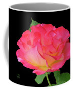 Rose Blushing Cutout Coffee Mug