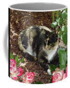 Rose Bower For A Cat Coffee Mug