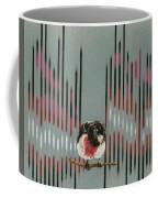 Rose Breasted Grosbeak And Song Coffee Mug