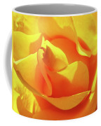 Rose Bright Orange Sunny Rose Flower Floral Baslee Troutman Coffee Mug