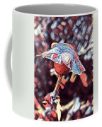 Rose Bud Frozen In Time  Coffee Mug