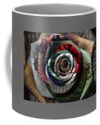Rose - Collaged Petals Coffee Mug