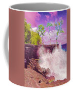 Rose Colored Splash At Mackenzie Coffee Mug