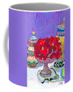 Rose Covered Cake Coffee Mug