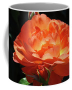 Rose Flower Art Prints Oragne Roses Summer Botanical Baslee Troutman Coffee Mug