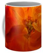 Rose Flower Orange Glowing Rose Giclee Baslee Troutman Coffee Mug
