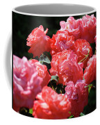 Rose Garden Art Prints Pink Red Rose Flowers Baslee Troutman Coffee Mug