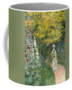 Rose Garden Coffee Mug by Claude Monet