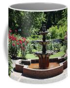 Rose Garden Fountain Coffee Mug