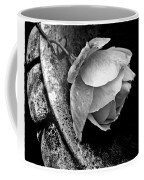 Rose In A Birdbath Coffee Mug