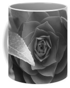 Rose In Black Coffee Mug