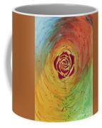 Rose In Vorteks Coffee Mug