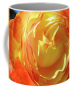 Rose Orange Yellow Roses Floral Art Print Nature Baslee Troutman Coffee Mug