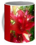 Rose Pink Lily Coffee Mug
