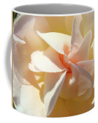 Rose Spiral Flower Art Prints Peach Rose Floral Baslee Troutman Coffee Mug